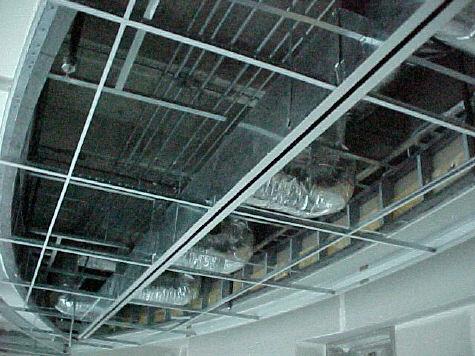 Overhead sprinkler system