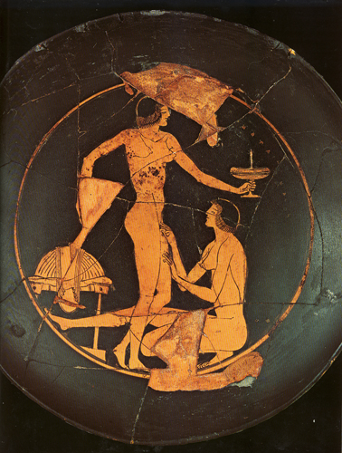 Nude ancient greek females necessary